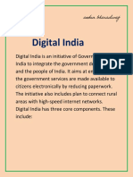 Digital India Article