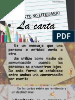 Material Apoyo Clase de Lenguaje. La Carta