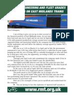 East Midlands Trains engineering members letter