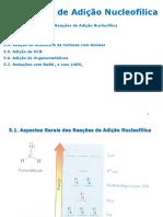 04 Reações de Adição Nucleofílica