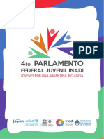 Parlamento Federal Juvenil - Inadi