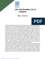 Scheller, Max - El Puesto Del Hombre en El Cosmos