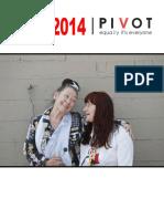Pivot Legal Society Annual Report 2014