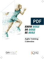 Agile TrainingCalendar A4
