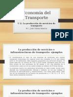 Economía Del Transporte u2 Ejemplo