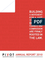 Pivot Legal Society Annual Report 2010