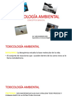 Toxicología Ambiental 1era Parte