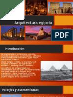 Arquitectura egipcia presentacion