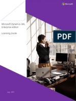 Dynamics 365 Enterprise Edition Licensing Guide