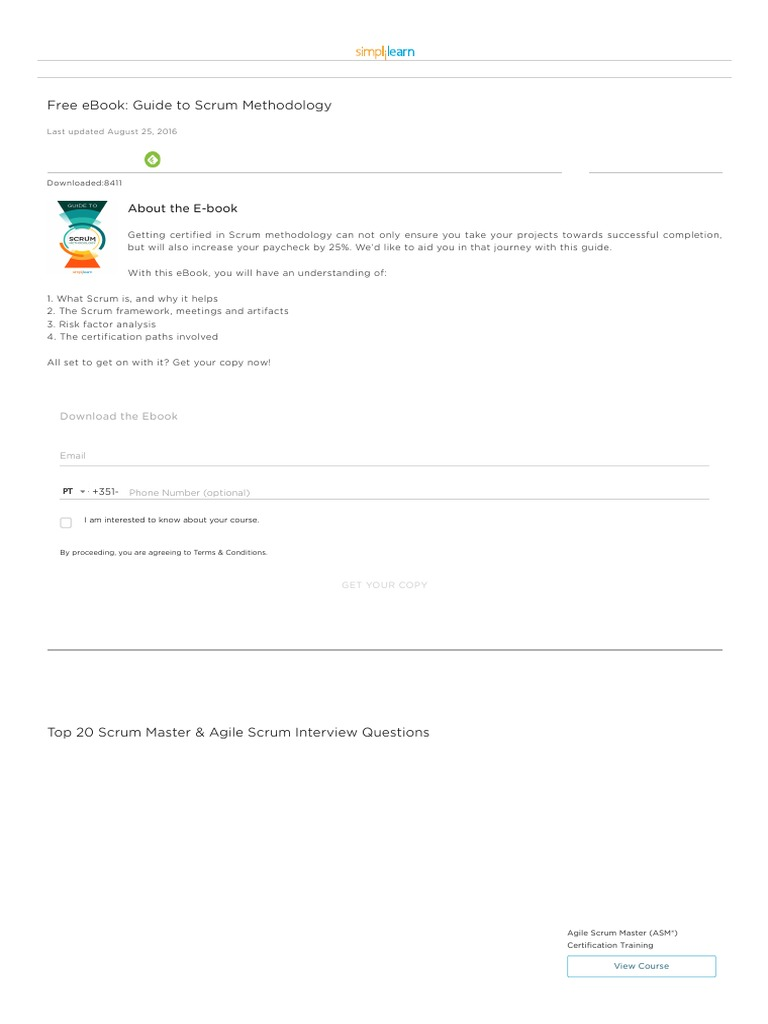 Ebook free download scrum