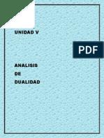 UNIDAD V ANALISIS DE DUALIDAD.docx