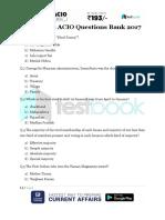 Question Bank for IB ACIO