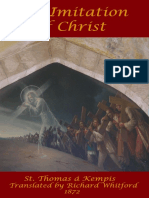 Imitation of Christ 1872 Edition