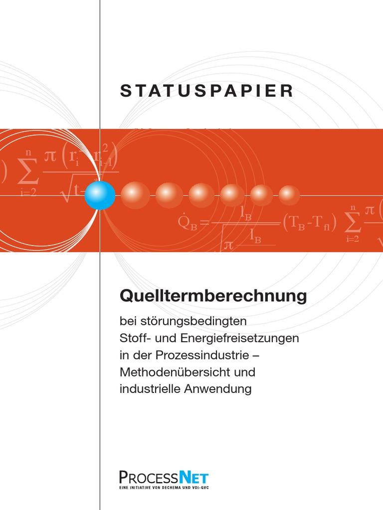 Statuspapier Quelltermberechnung-1