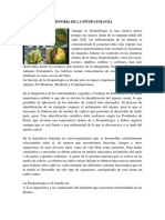 Historia de La Fitopatología