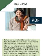 Bapsi Sidhwa 2