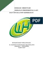 Tor Orientasi Ten Kesh Prof Lain Dan Non Kesehtn Fix 2017