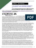 Mark Bergfeld - Willkommenskultur Durch Arbeitsmarktintegration (express & Labournet Germany)
