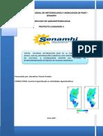 comparativo de indicadores de sequía agrícola