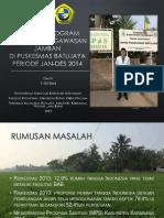 PPT Evaluasi Jamban Puskesmas Batujaya