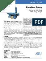 Peerless Data Sheet B-1400v2003