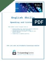 English skill for writing