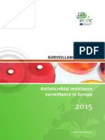 Antimicrobial Resistance Europe 2015