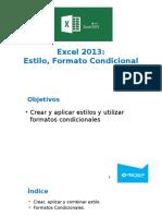 03. Excel 2013 - Estilos y Formato Condicional