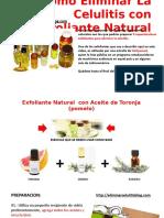 Como Eliminar La Celulitis Con Poderoso Exfoliante Natural