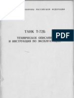 T-72B Russian Main Battle Tank - Technical manual