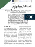 Managerial Autism Threat Rigidity and Ri