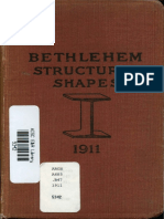 Catalogue of Bethlehem Structural Shapes 1911