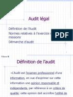 1_Audit Légal _Présentation de La Démarche Générale