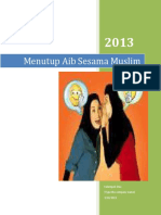 Makalah Menutup Aib Sesama Muslim.docx