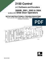 Manual Tarjeta c2150 Horton