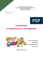 CUESTIONARIO EVALUACIÓN DE LOS APRENDIZAJES. ANDREA DÁVILA.docx