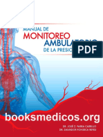 Manual de Monitoreo Ambulatorio de La Presion Arterial