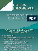 Penyebab, Penyebaran Dan Penularan Malaria