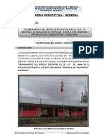 Memoria Descriptiva General 25102016