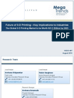 Frost and Sullivan-Aug 2014-Future of 3-D Printing—Key Implications to Industries