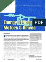 Energy Efficient Motors & Drives