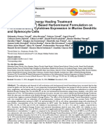 Trivedi Effect - Effect of Biofield Energy Healing Treatment (The Trivedi Effect®) Based Herbomineral Formulation on Pro-Inflammatory Cytokines Expression in Murine Dendritic and Splenocyte Cells