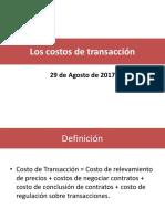 4. OrgIndustr_Los Costos de Transacción
