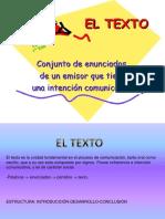 Ppt Estructura Del Texto