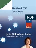 A Secure and Fair Australia Fact Sheet