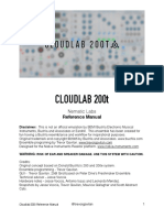 Cloudlab 200t Reference Manual