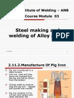 Met 03R Steel Making Alloy Steels_Rev 2 Module 3