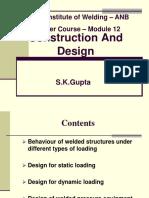 Design Construction Rev 4M June 14 Module 12