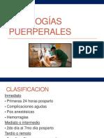Patologías-puerperales