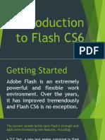 Introduction to Flash CS6